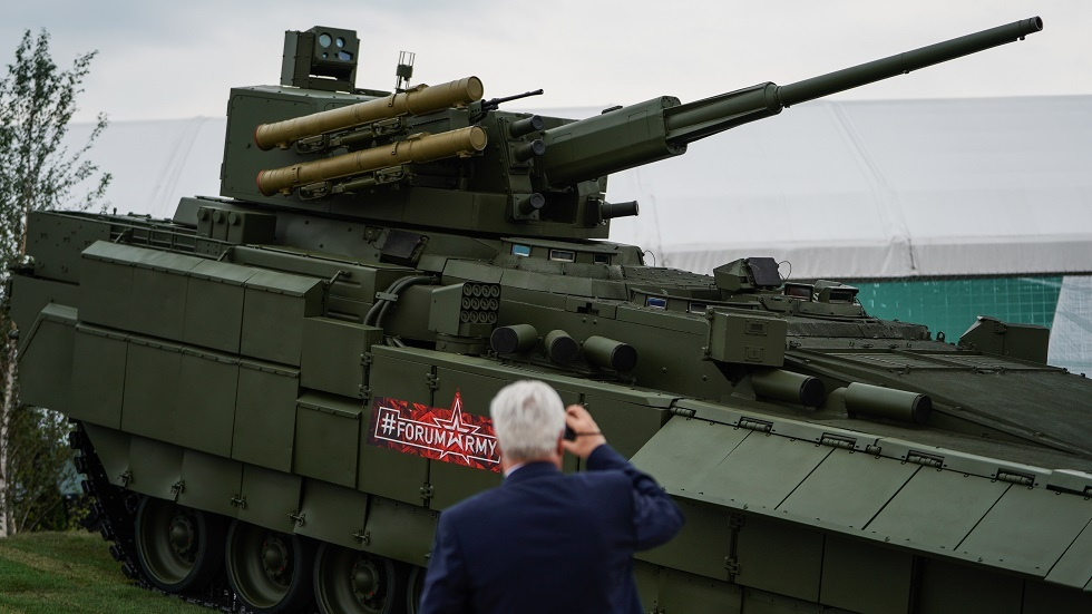 روسيا تجهز إحدى أحدث عرباتها القتالية بأسلحة دقيقة وفتاكة