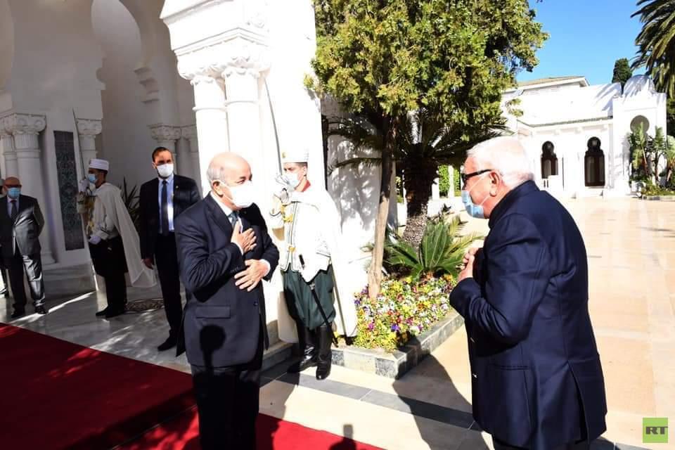 تبون يستقبل رئيس الجزائر الأسبق (صورة)