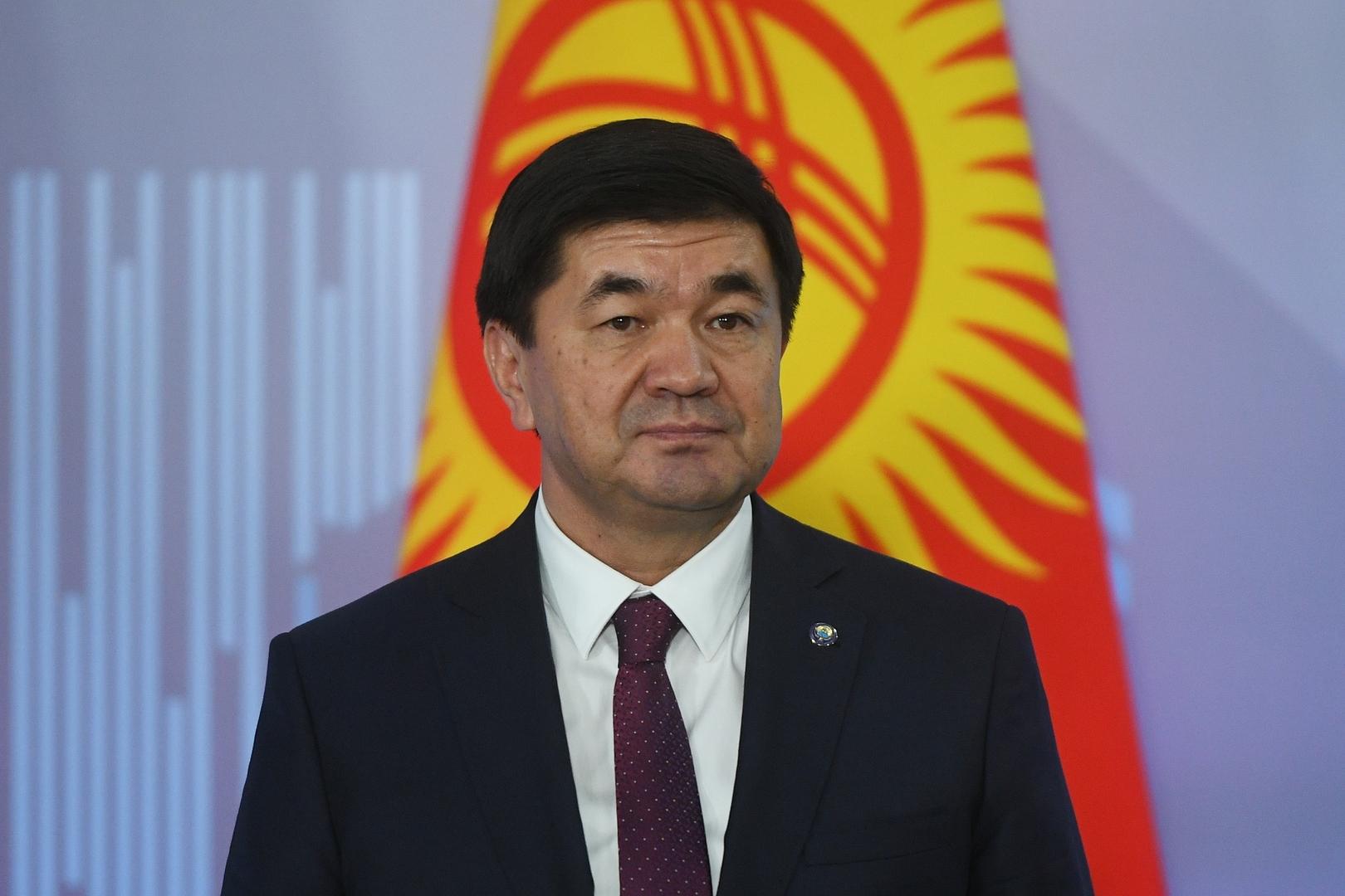 رئيس الوزراء القرغيزي، محمد قالي عبد الغازييف.