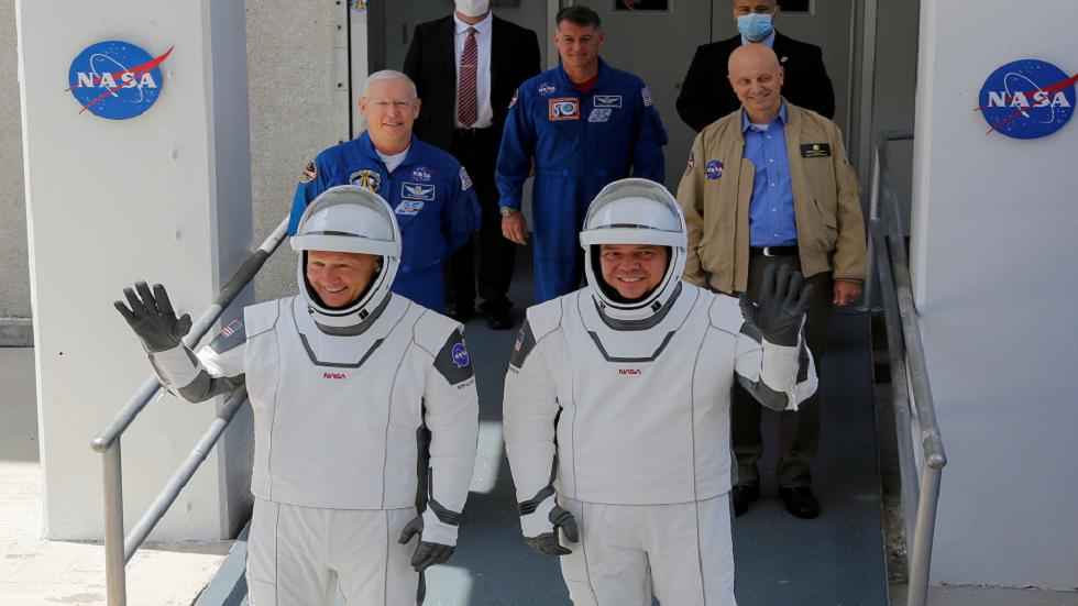 رائد ناسا يكشف عن صورة