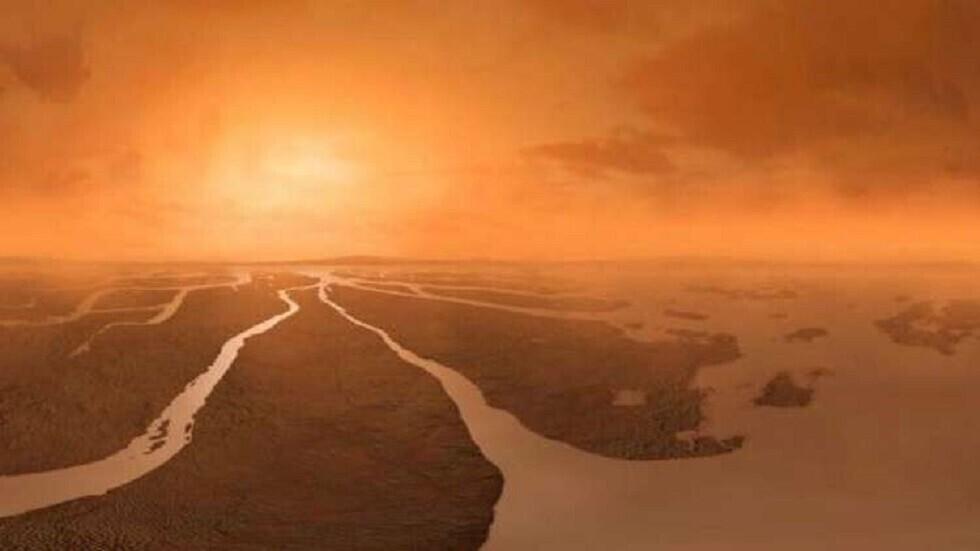 صورة تعبيرية لسطح تيتان