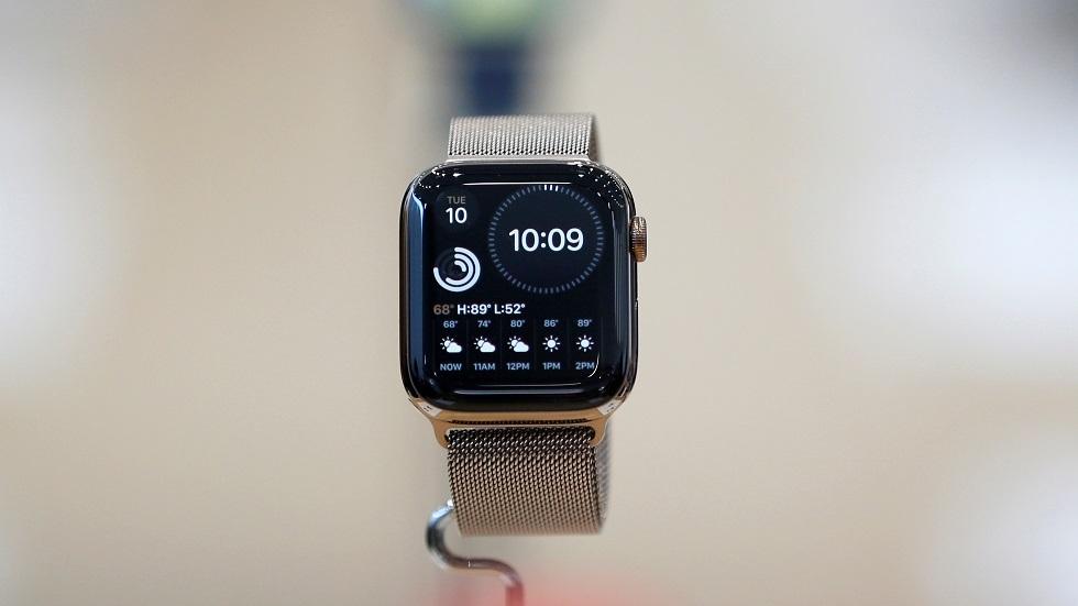 صاعة apple watch الذكية من آبل