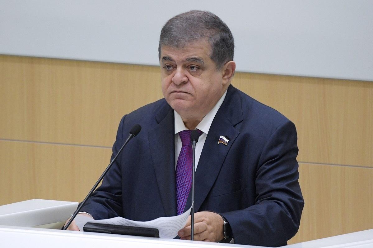 فلاديمير جباروف، رئيس لجنة الشؤون الخارجية في مجلس الاتحاد الروسي