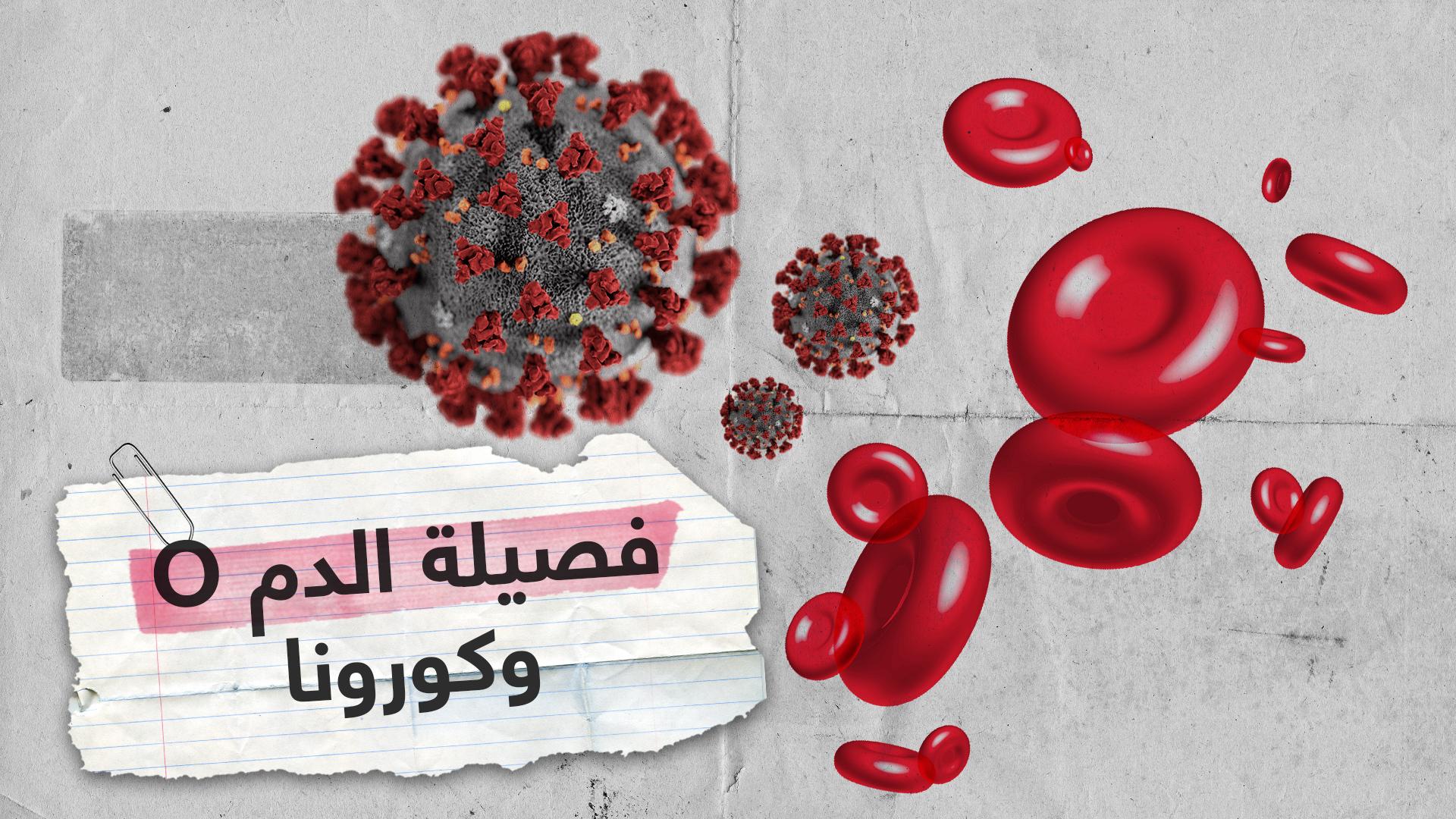 هل أصحاب فصيلة الدم O أقل عرضة للإصابة بكورونا؟