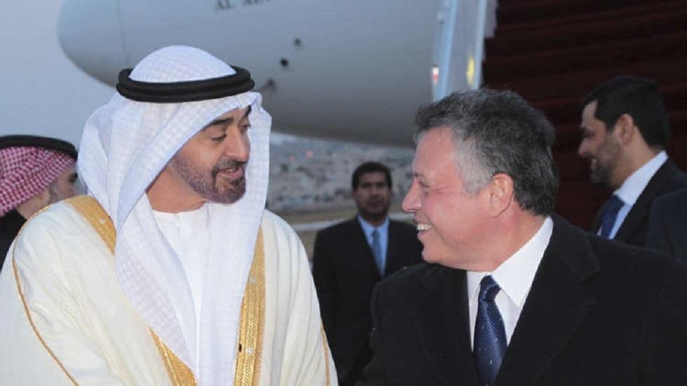 العاهل الأردني وولي عهد أبو ظبي يرفضان أي إجراء إسرائيلي لضم أراض في الضفة الغربية