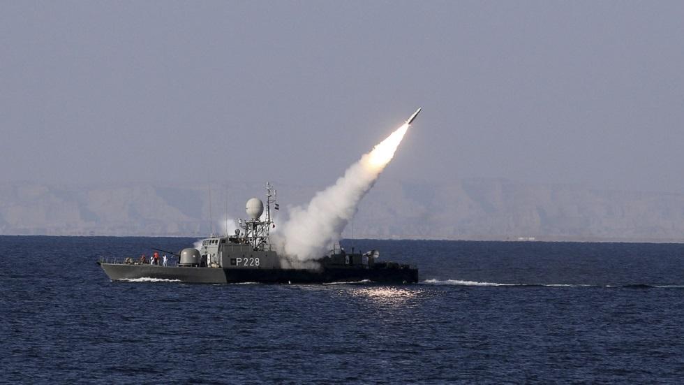 تدريبات للبحرية الإيرانية  (صورة أرشيفية)