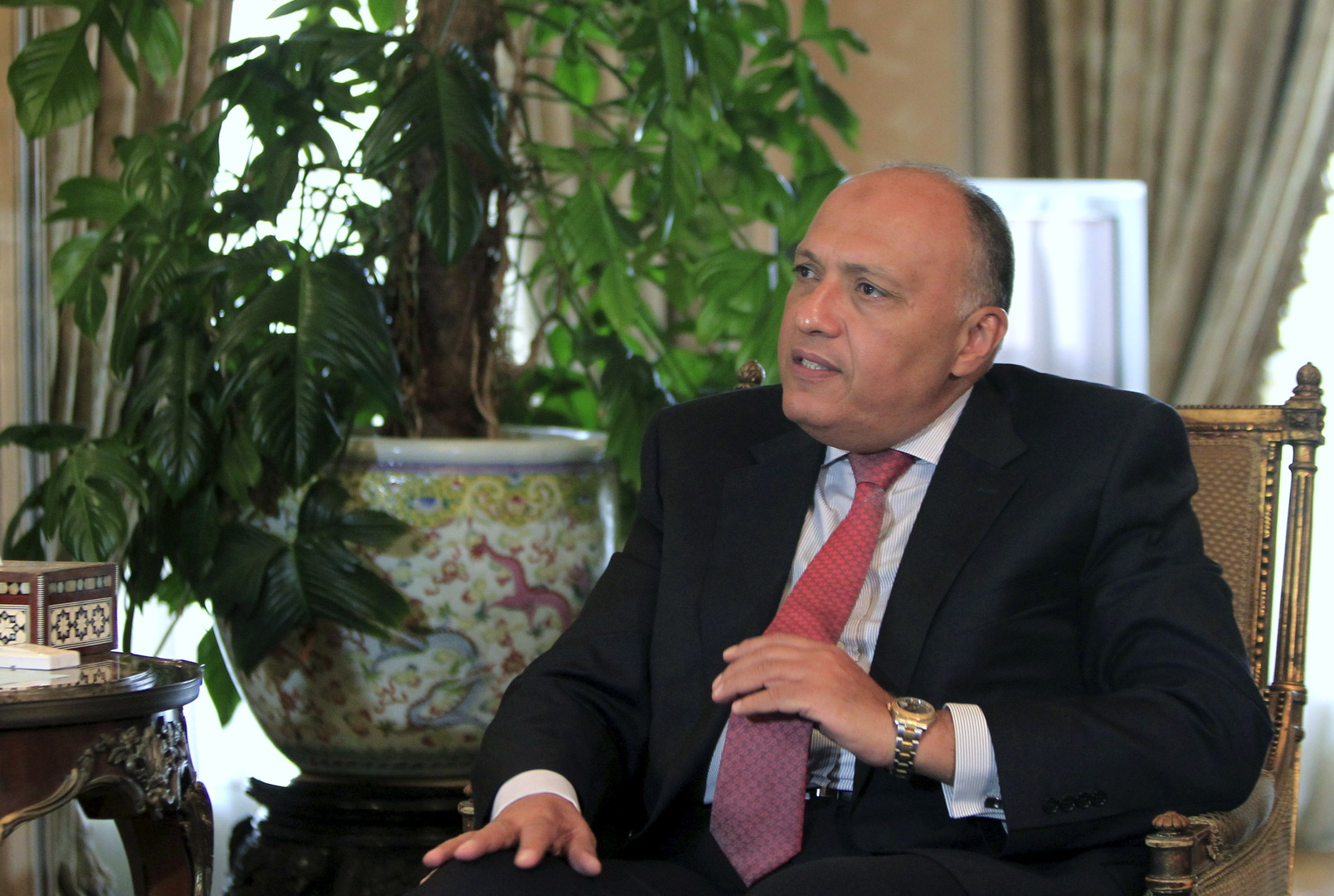 وزير الخارجية المصري يحذر من أي تحرك أحادي في أزمة