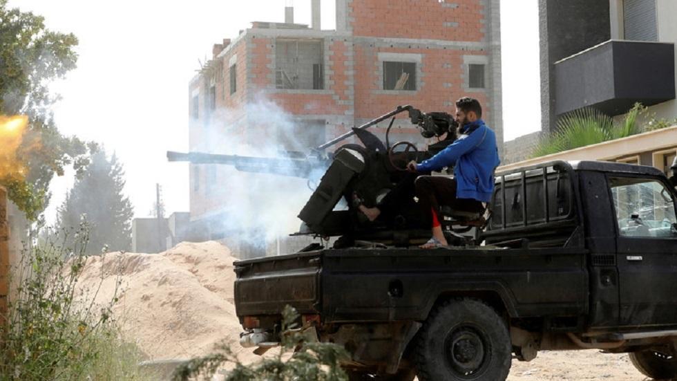القتال في العاصمة الليبية طرابلس - أرشيف