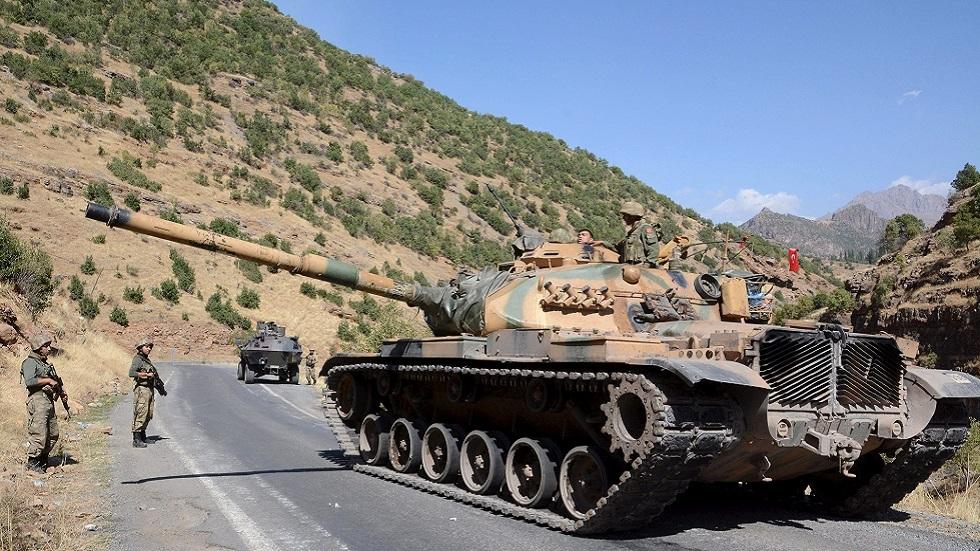 الدفاع التركية: عناصر الكوماندوز تواصل تدمير الأهداف الإرهابية شمالي العراق