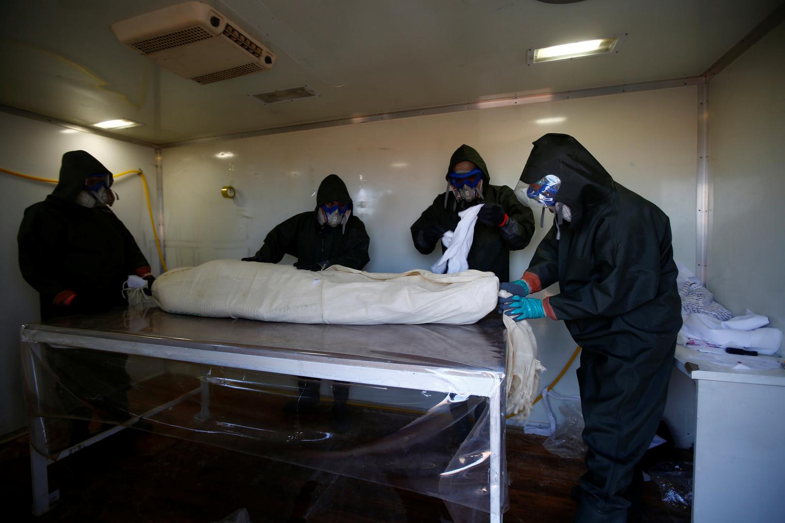 العراق.. دفن 79 جثة لمتوفين بكورونا خلال الـ24 ساعة الماضية