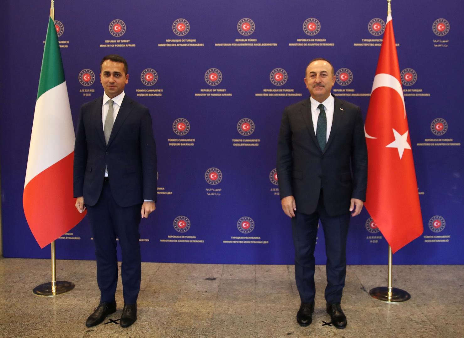 تركيا تشكر إيطاليا على موقفها تجاه حفتر