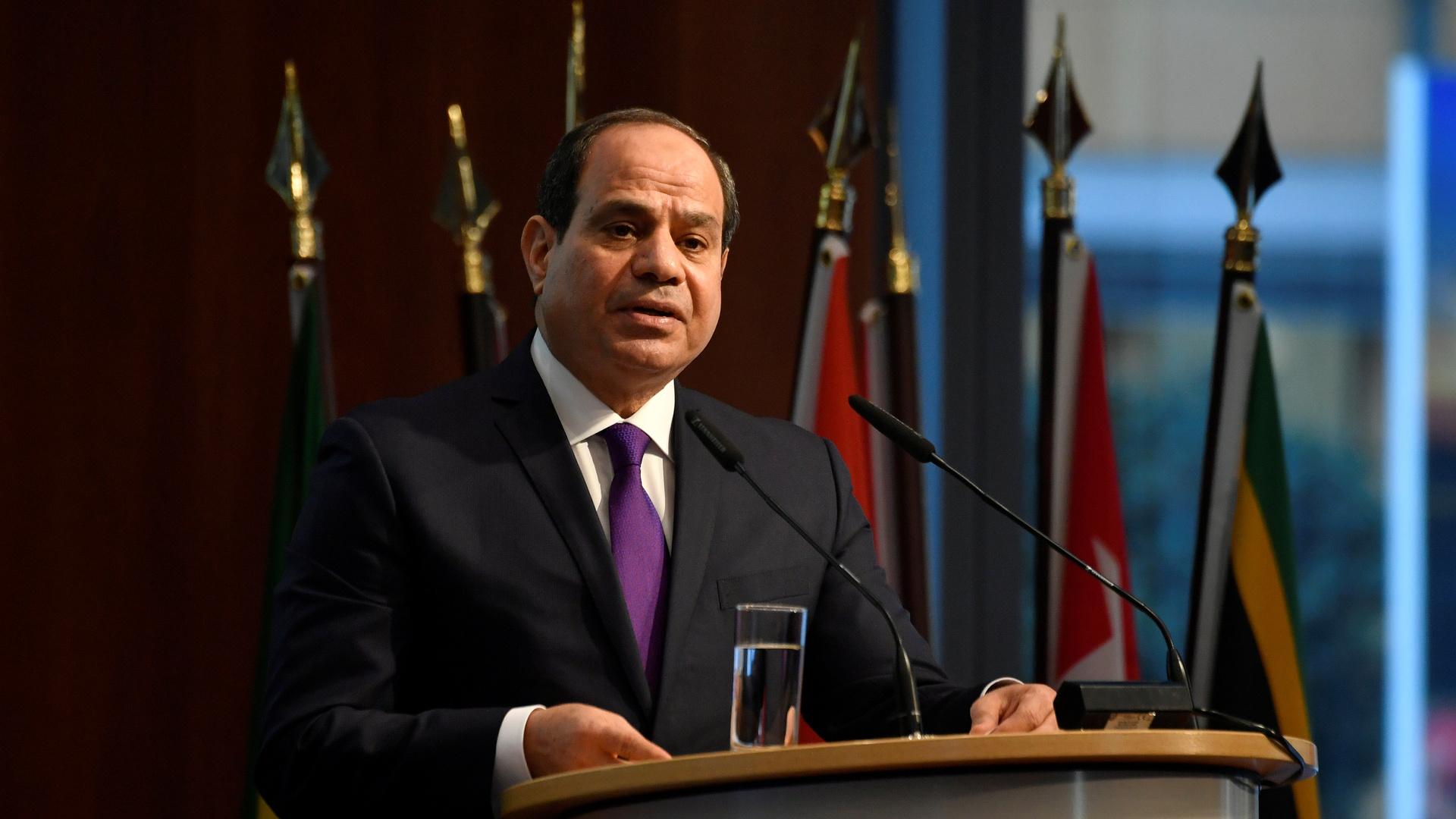 السيسي يطالب القوات الجوية بالاستعداد لتنفيذ مهام خارج مصر