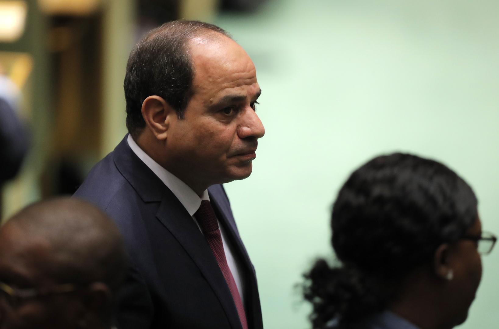 السيسي: أي تدخل مباشر لمصر في ليبيا باتت تتوفر له الشرعية الدولية