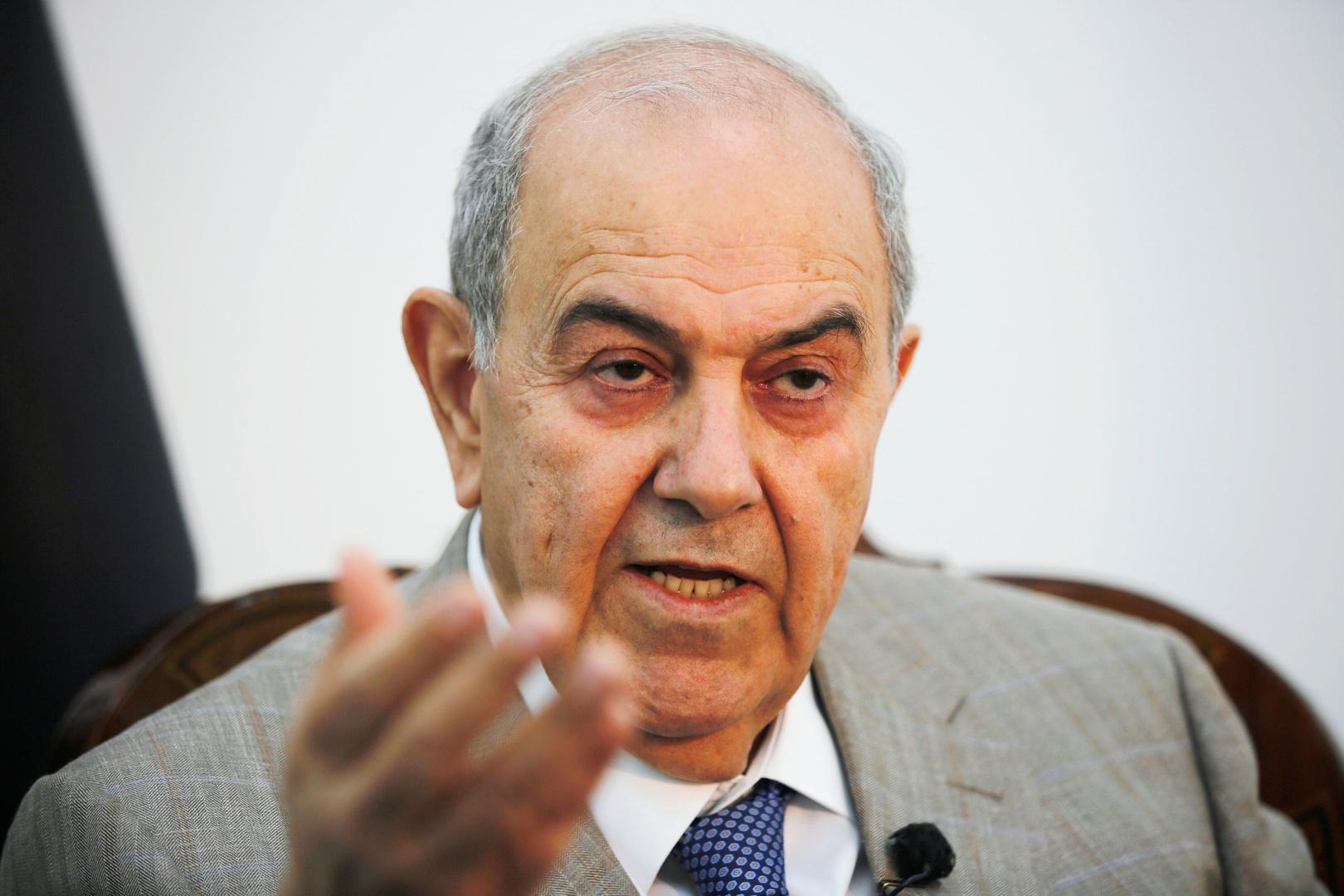 رئيس الوزراء العراقي الأسبق زعيم ائتلاف