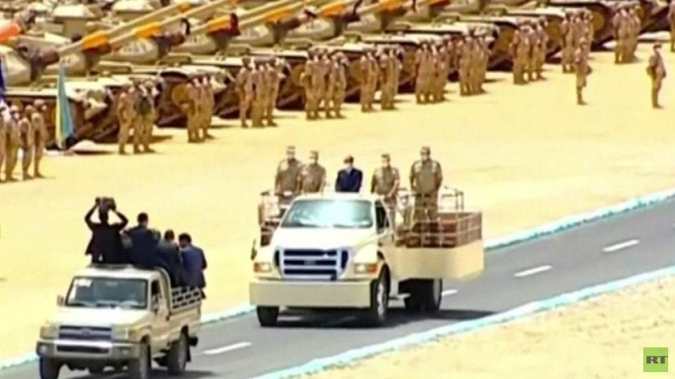 السيسي: أي تدخل مصري في ليبيا شرعي