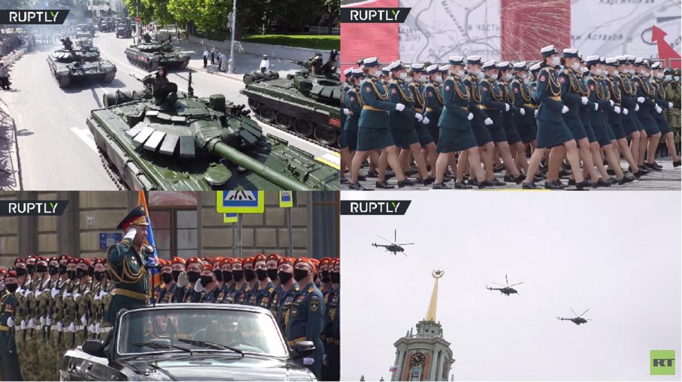 أكبر مدن روسيا تشهد آخر الاستعدادات للعرض العسكري بمناسبة الذكرى الـ75 للنصر على النازية
