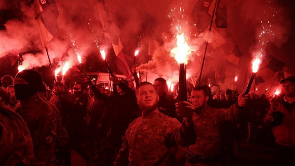 مظاهرة للقوميين في كييف