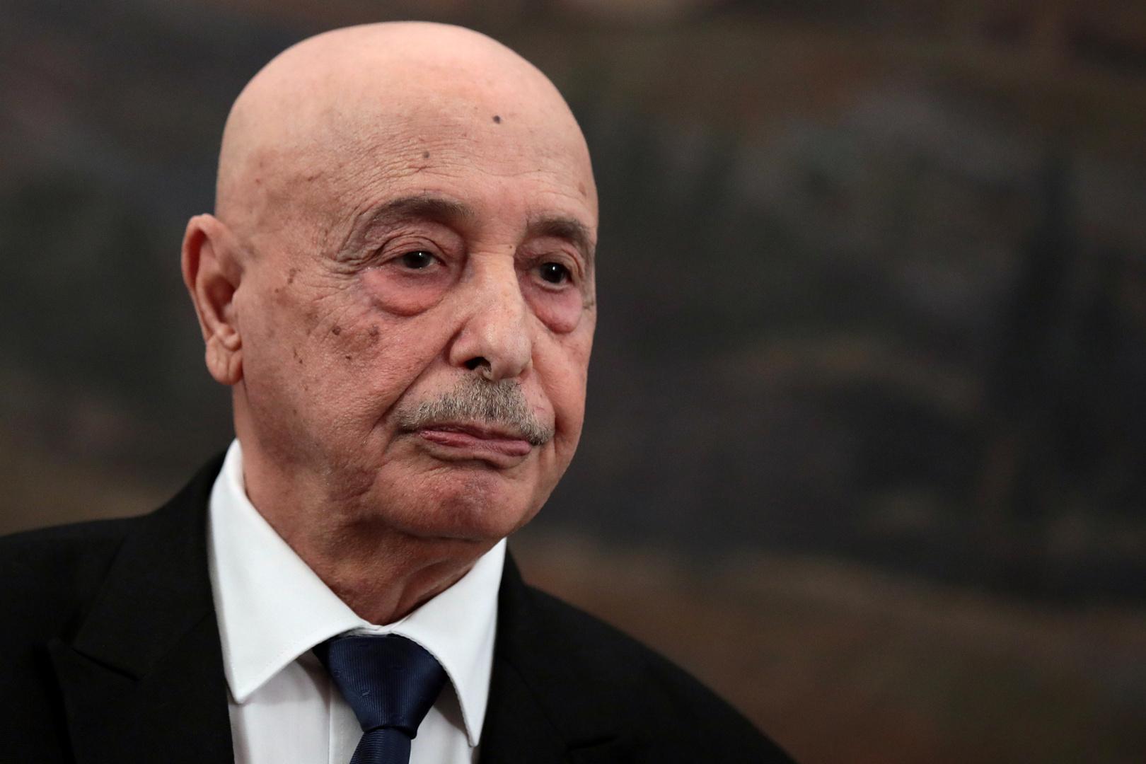 رئيس مجلس النواب الليبي، عقيلة صالح.