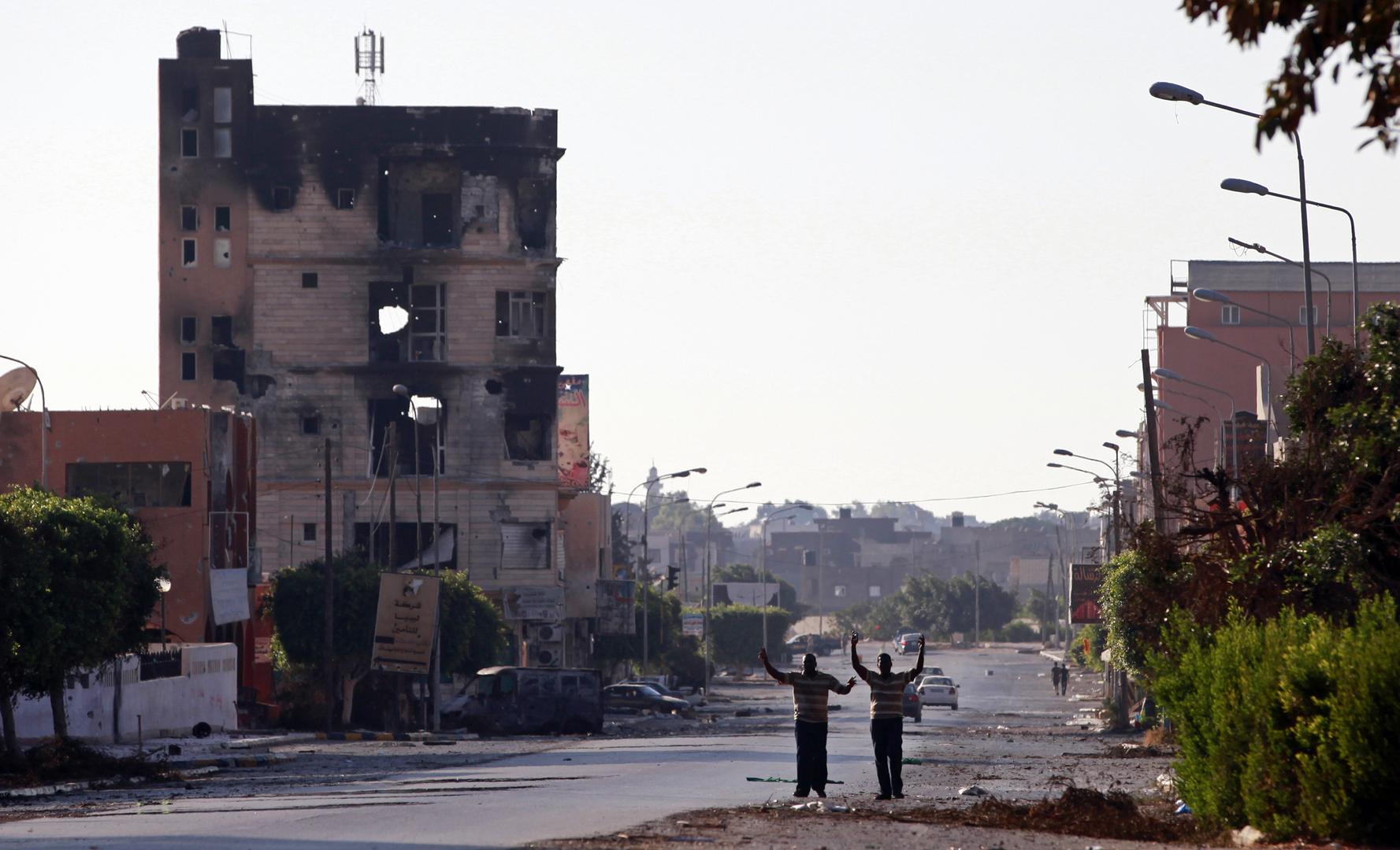 مدينة صبراتة الليبية (صورة من الأرشيف)
