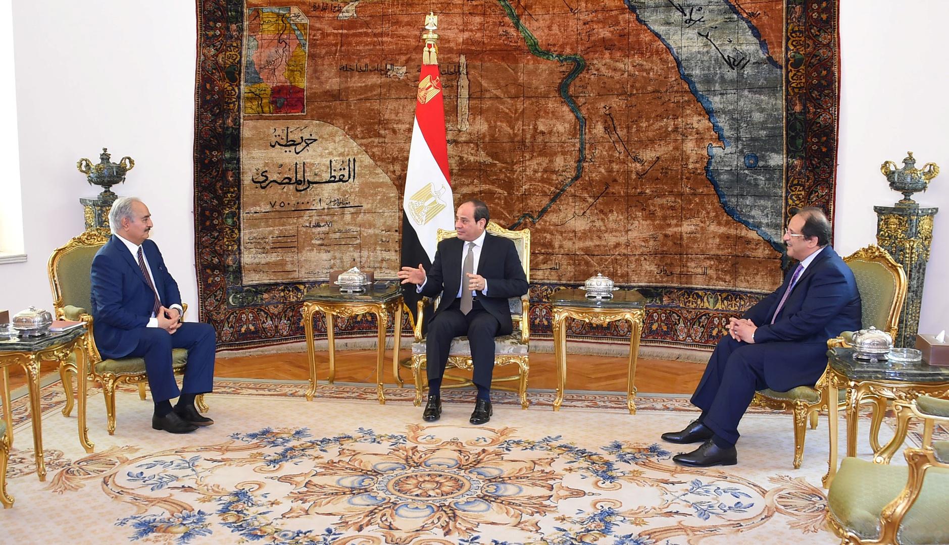 مصر مستعدة لشن حرب من أجل السلام