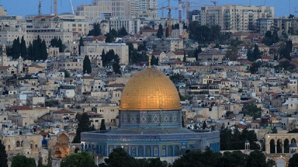 مسجد قبة الصخرة في الأقصى بالقدس