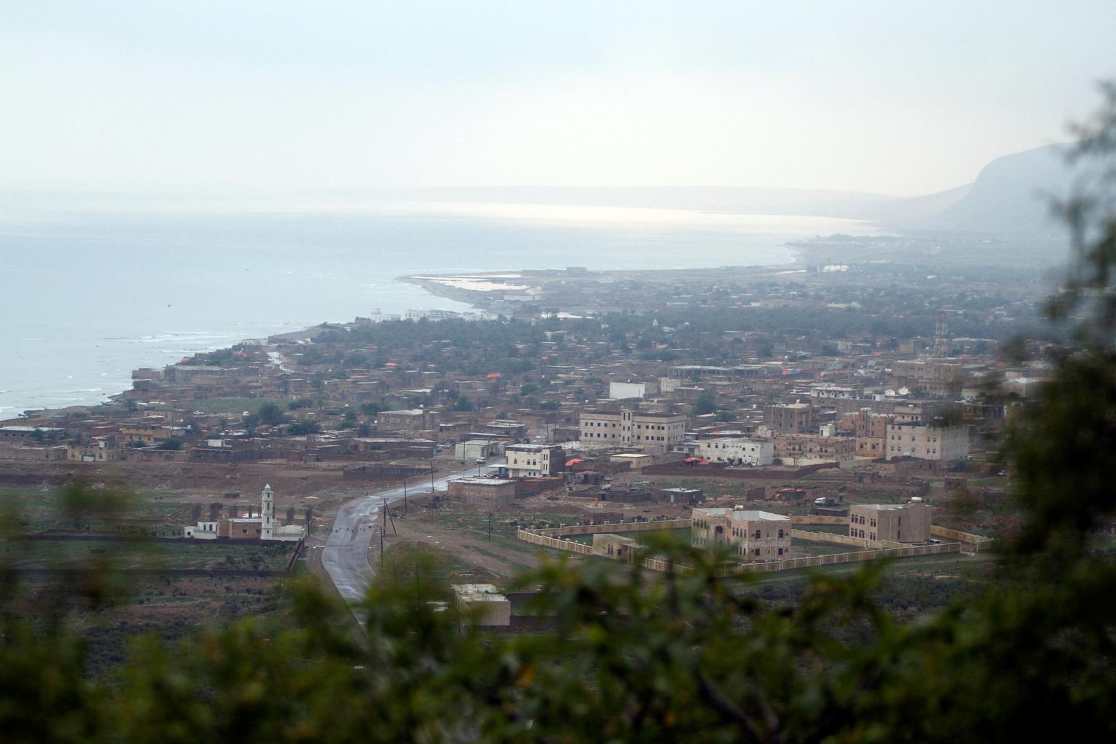 مدينة حديبو عاصمة محافظة أرخبيل سقطرى اليمنية
