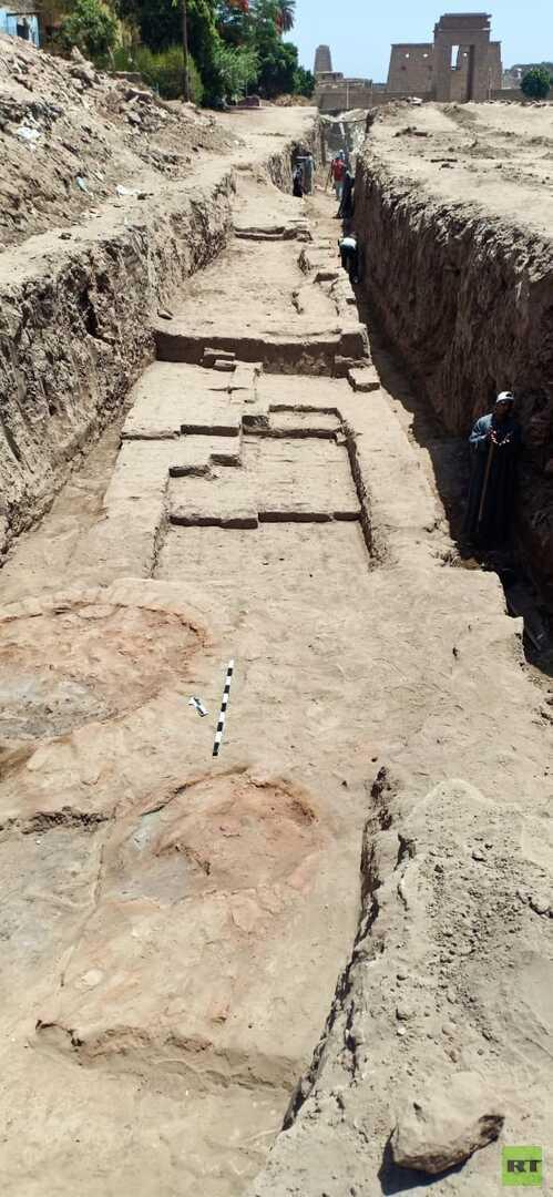 مصر..العثور على أفران حرق وسور ضخم من العصر الروماني المتأخر (صور)