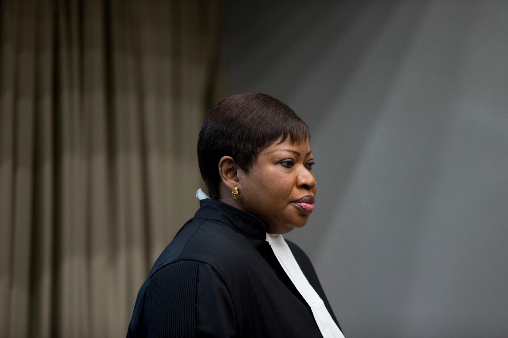 المدعية العامة في المحكمة الجنائية الدولية فاتو بنسودا