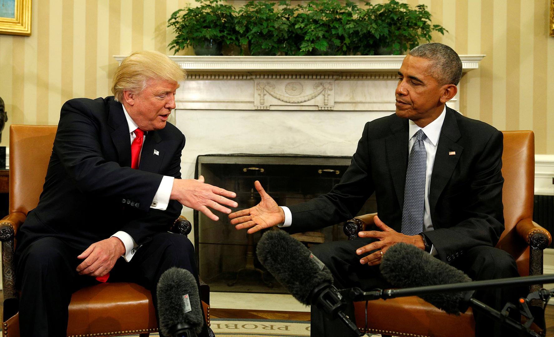 ترامب يتهم أوباما بالخيانة العظمى!
