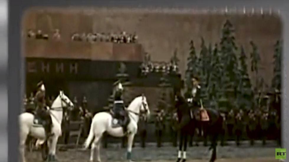 تاريخ العروض العسكرية في موسكو