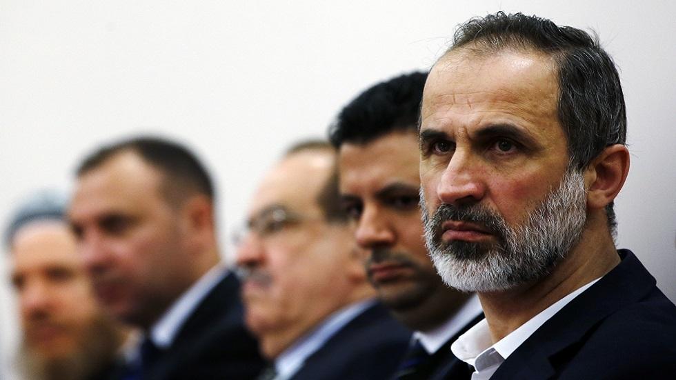 الرئيس السابق للائتلاف الوطني السوري المعارض معاذ الخطيب