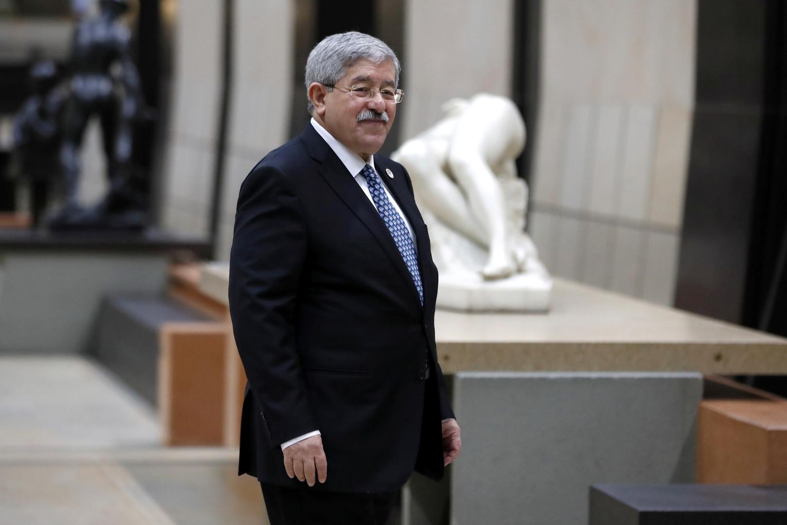 رئيس الوزراء الجزائري السابق أحمد أويحيى، أرشيف