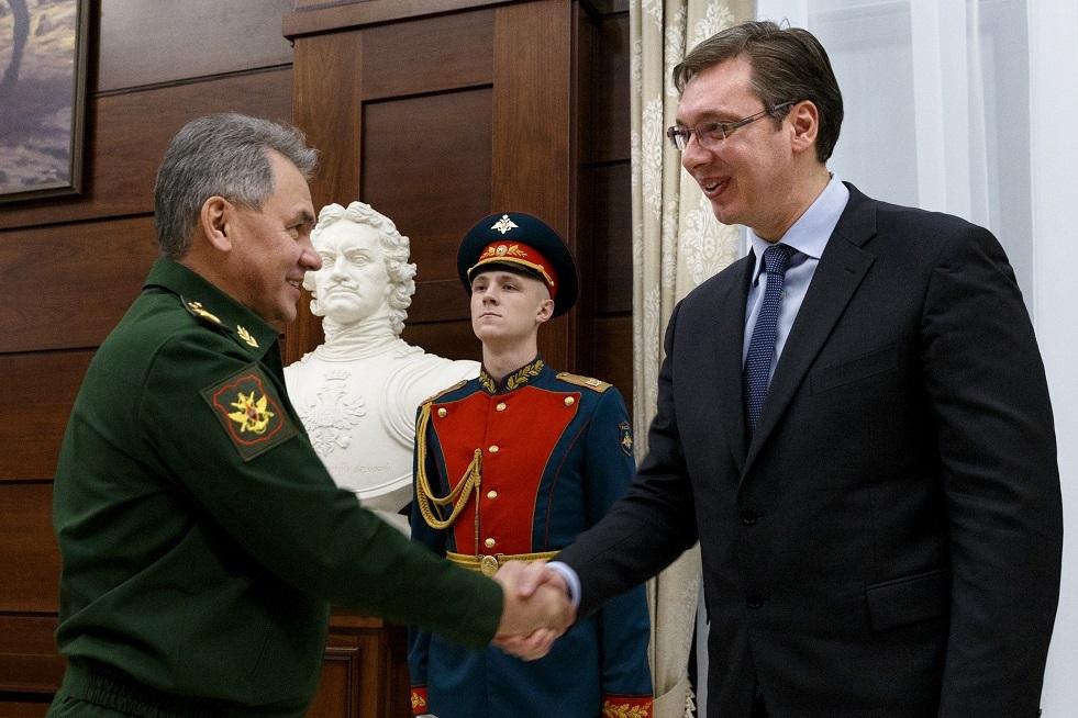 الرئيس الصربي: شويغو صديق كبير لنا