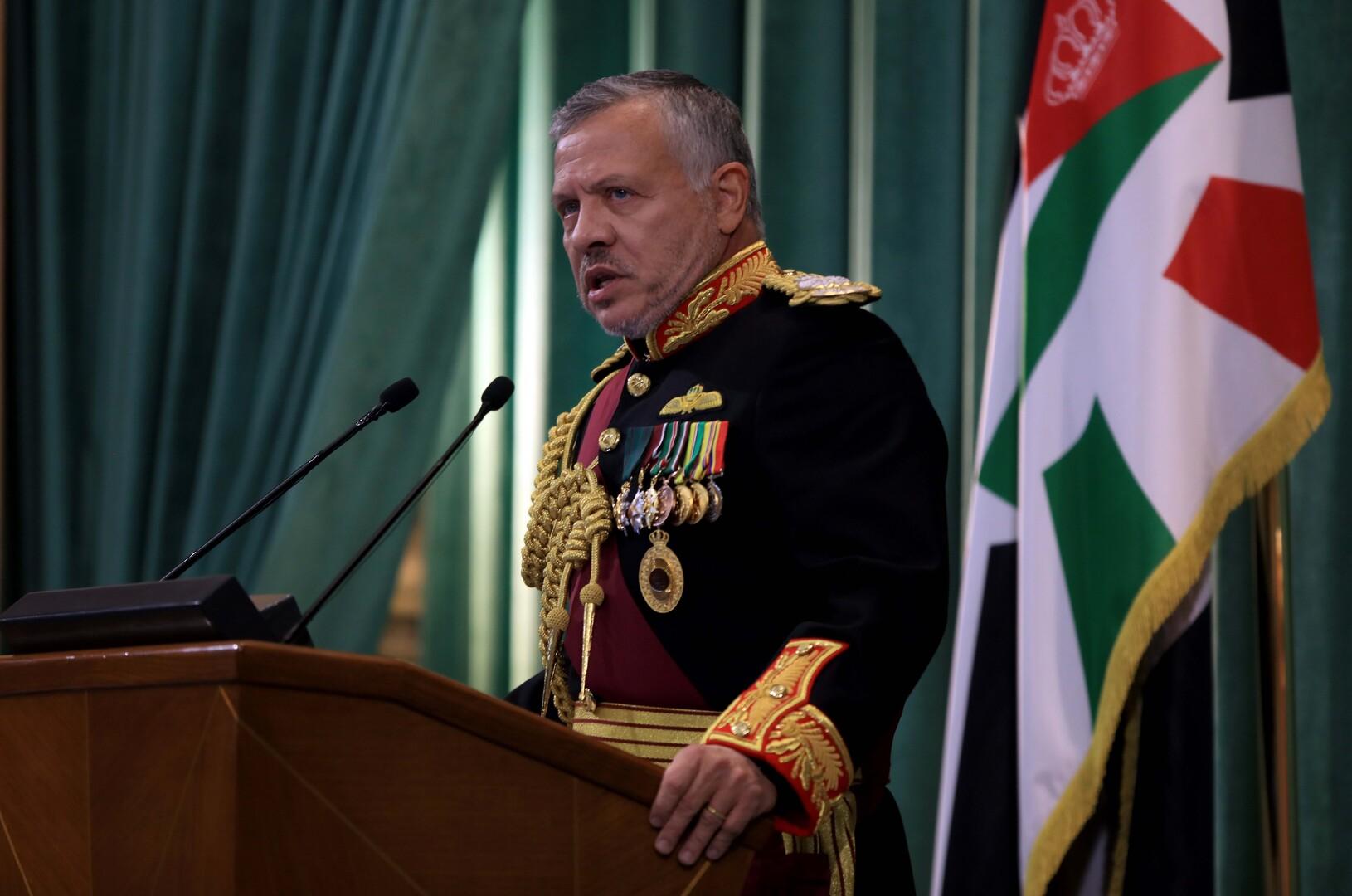 العاهل الأردني يبحث القضية الفلسطينية مع رئيس ألمانيا