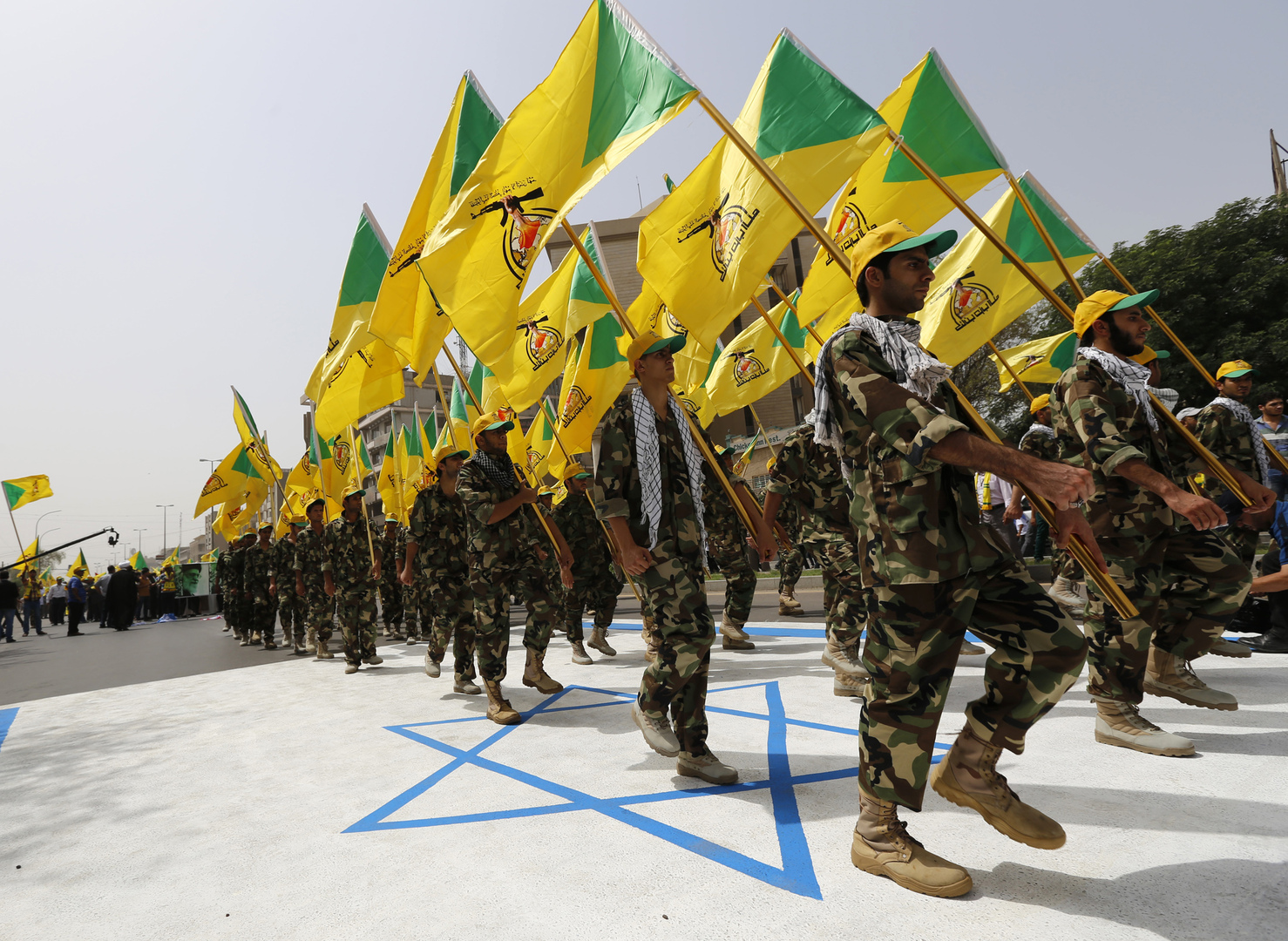 بيان للقوات العراقية حول عملية اعتقال عناصر