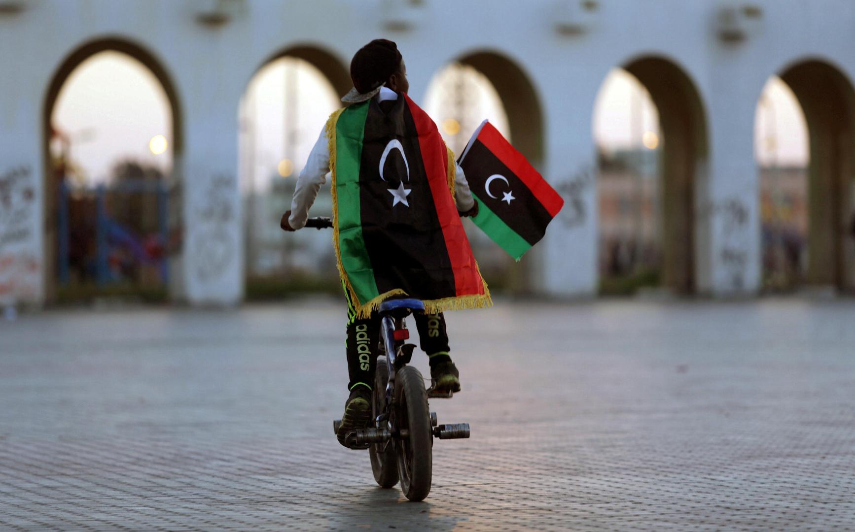 كيف قسمت ليبيا العالم العربي