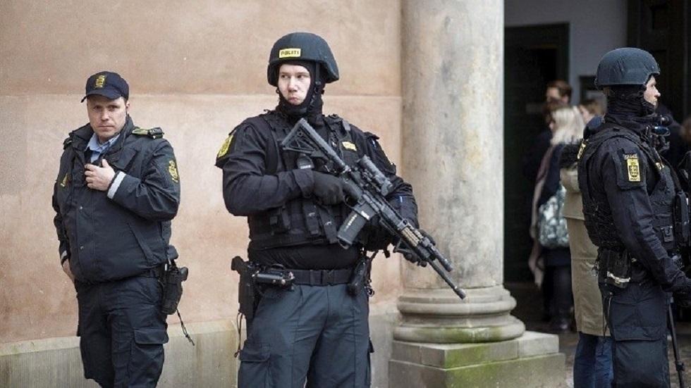 قوات الأمن الدنماركية - أرشيف