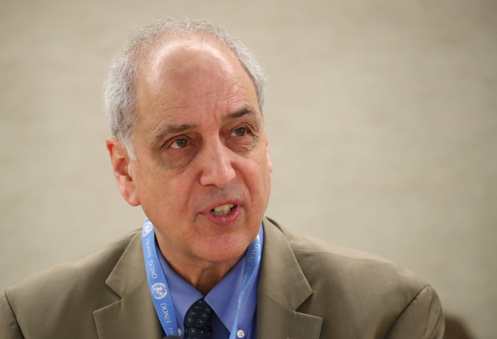 مايكل لينك، مقرر الأمم المتحدة الخاص بحقوق الإنسان في فلسطين