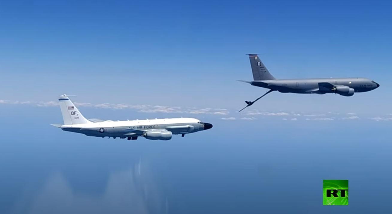 مقاتلة روسية تعترض طائرات عسكرية أمريكية فوق البحر الأسود