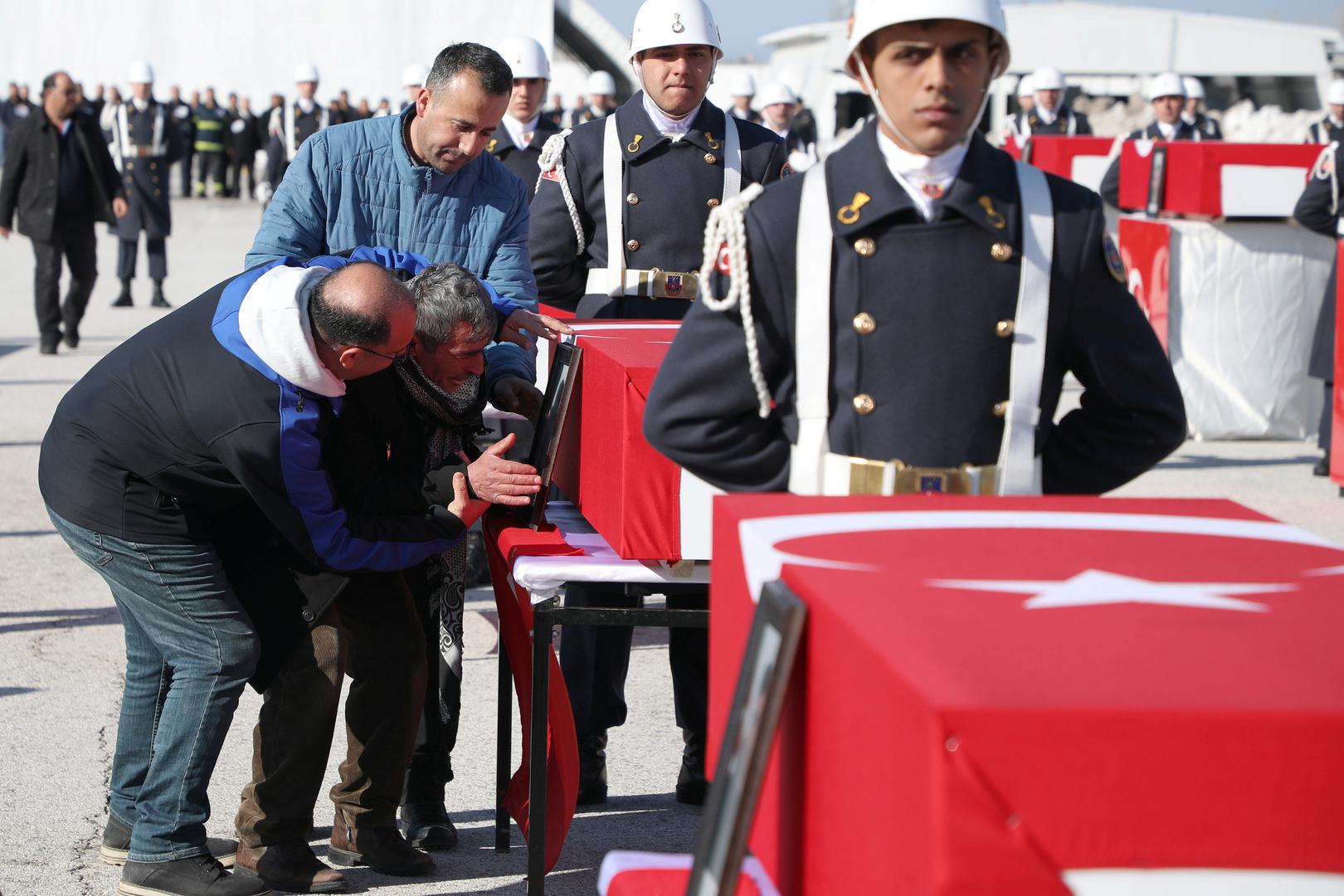 تشييع أحد قتلى الجيش التركي، صورة من الأرشيف