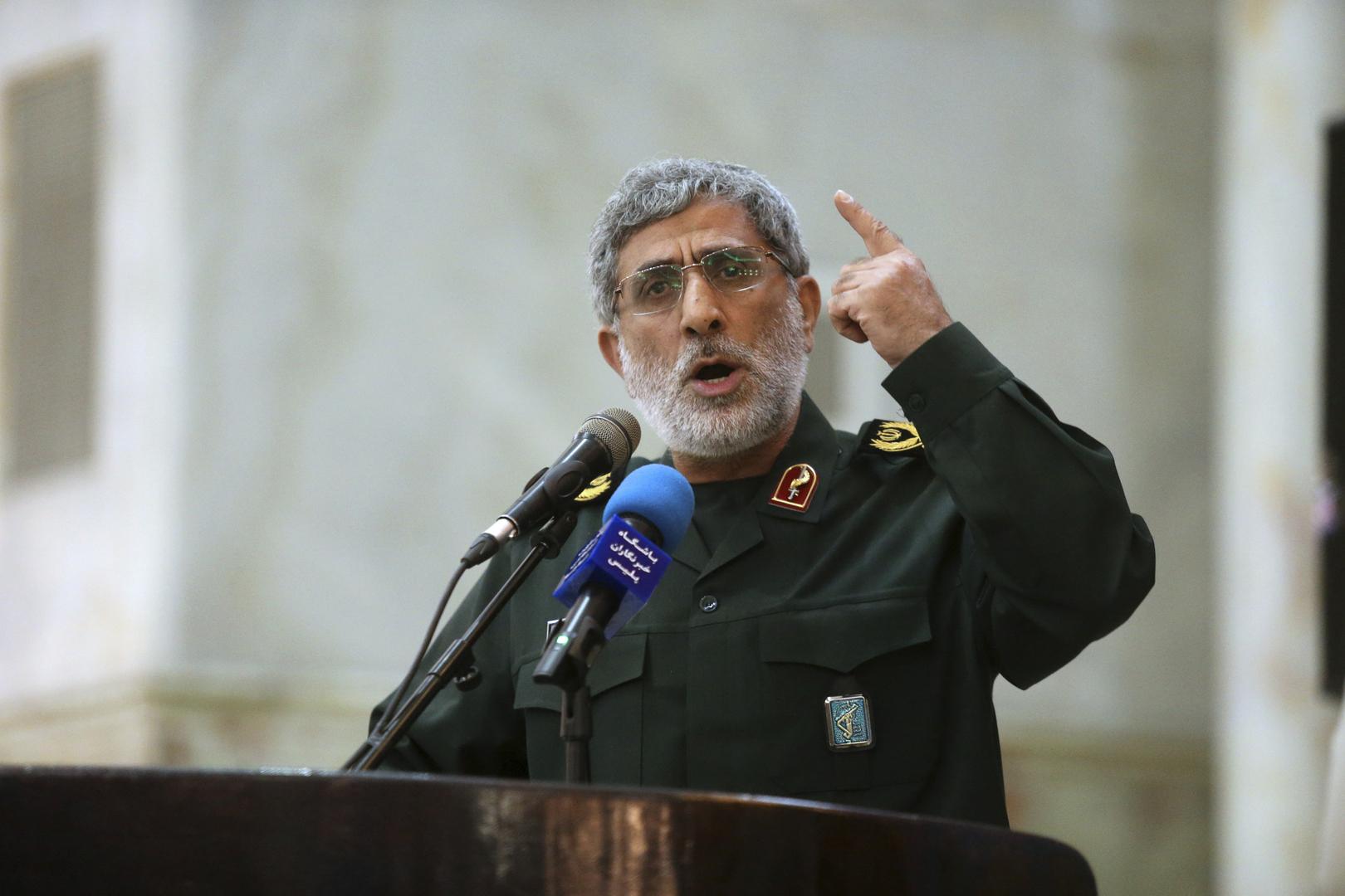 وسائل إعلام إيرانية: قائد