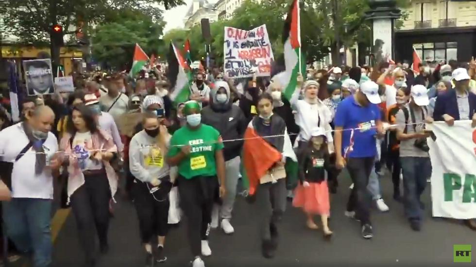 فرنسا.. مظاهرات تندد بخطة الضم الإسرائيلية