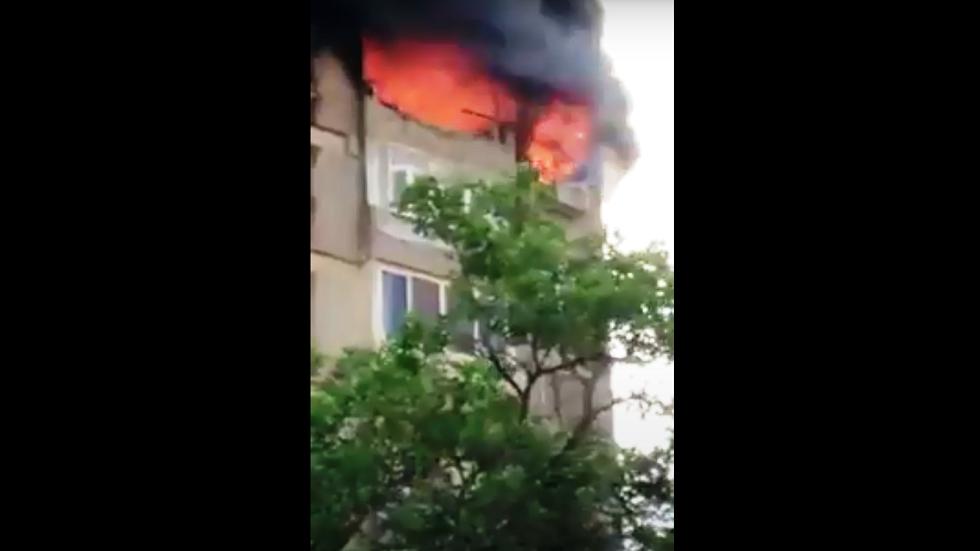 مصر.. وفاة مسنّين إثر حريق التهم شقتهما بمنطقة القاهرة الكبرى (فيديو)