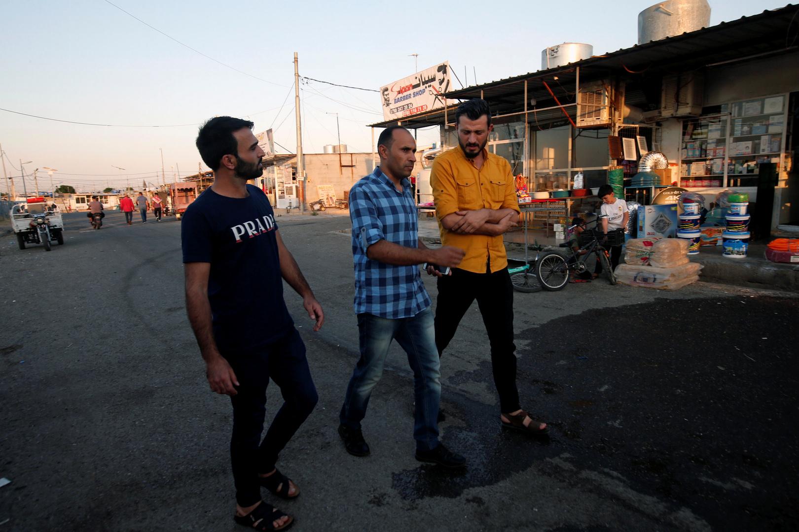 مخيم للاجئين السوريين - أربيل