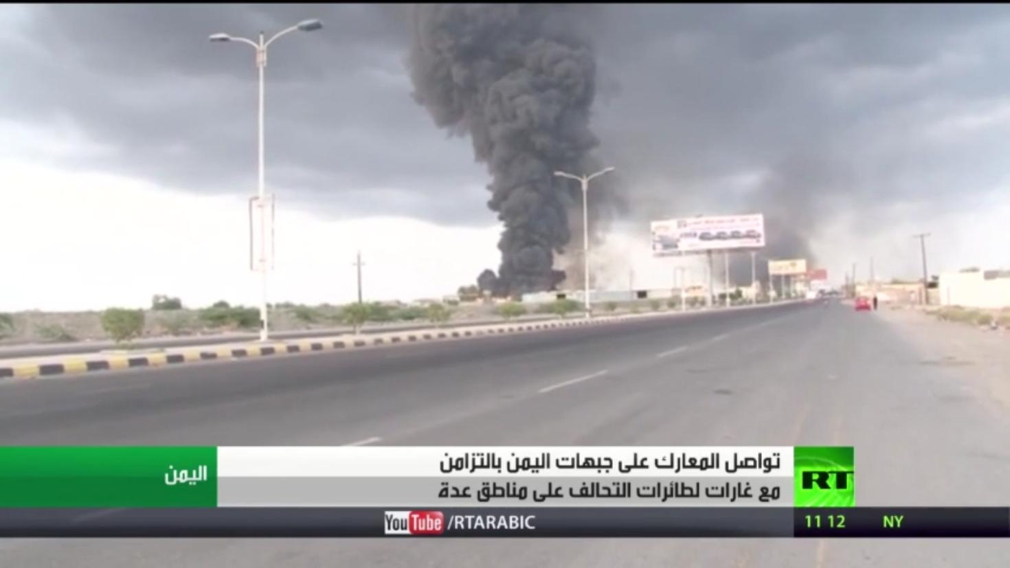 معارك بين قوات الانتقالي والحوثيين بالضالع