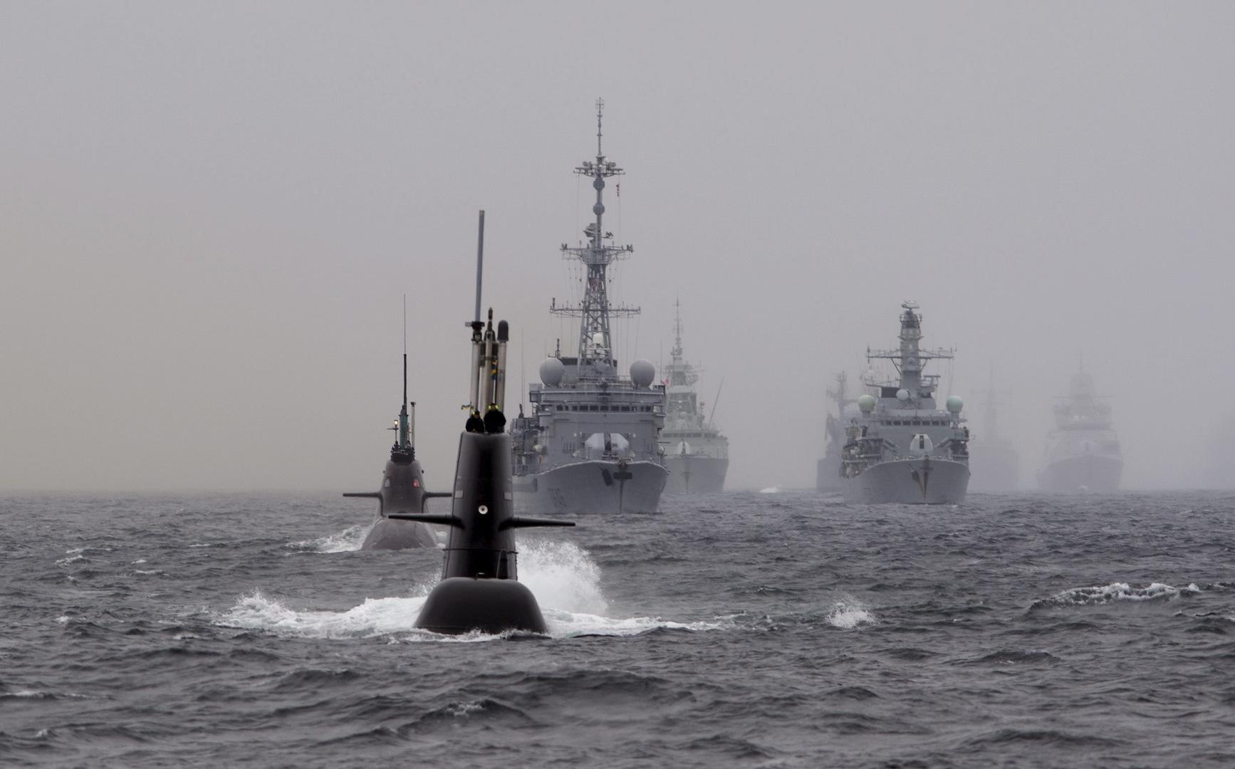 انطلاق تدريبات بحرية للناتو في شمال الأطلسي