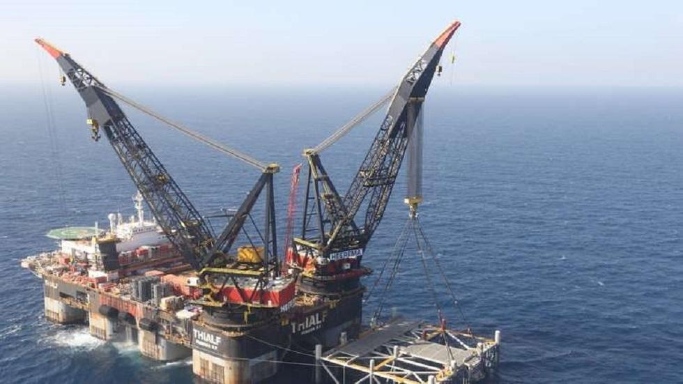 الحكومة الإسرائيلية تصادق على التنقيب عن الغاز في المنطقة المتنازع عليها مع لبنان (صورة من الأرشيف)