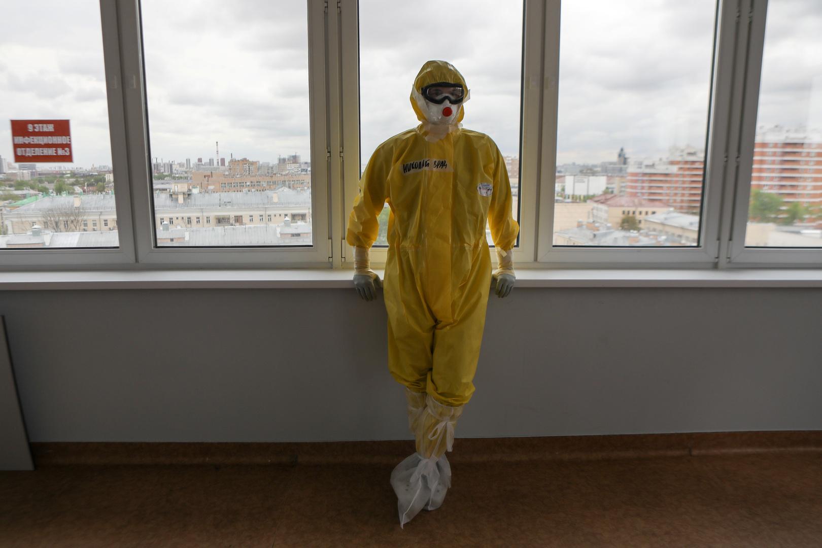 روسيا تسجل 93 وفاة و6719 إصابة بكورونا خلال 24 ساعة