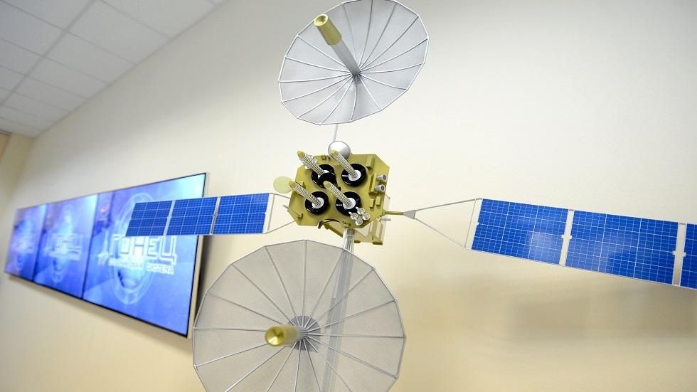 نموذج لأحد الأقمار Gonets  الصناعية الروسية
