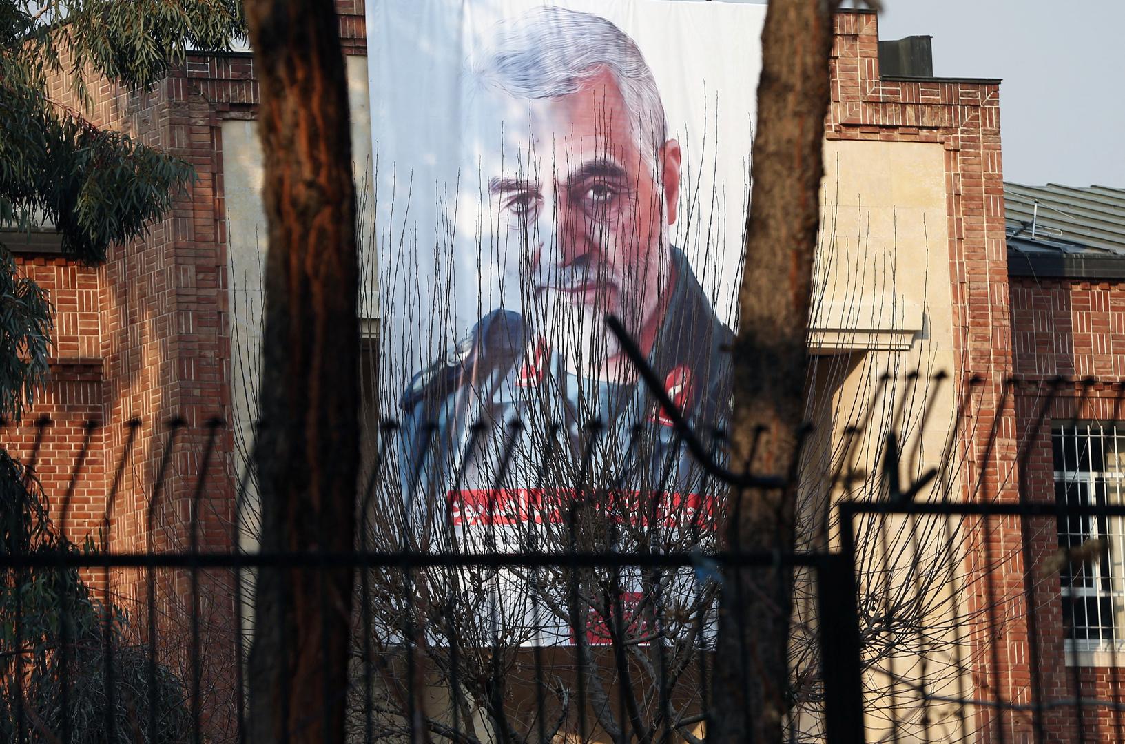 طهران: سنلاحق 36 شخصا على رأسهم ترامب تورطوا في اغتيال سليماني